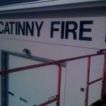 picatinny_fire_dept step one signs install dimensional lettering