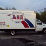 pine brook nj aer sales vehicle graphics_step one signs installation