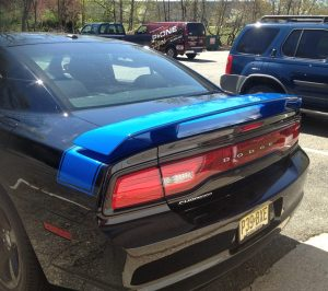 blue-striping-dodge-charger-wrap