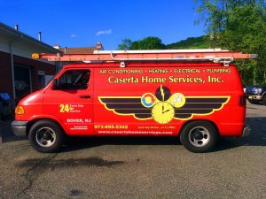 caserta-home-services-van-wrap